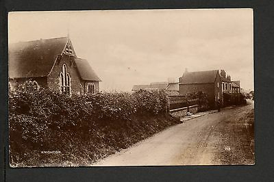 Knighton - real photographic postcard
