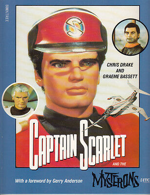 CAPTAIN SCARLET & THE MYSTERONS : BOOK -1993- Excellent Condition