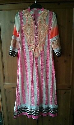 Authentic SANA SAFINAZ 100% Lawn Summer 3 Piece Suit Ready-Stitched Embroidered