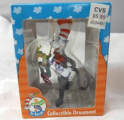 1997 Enesco Dr. Seuss Christmas Ornament NIB Cat in The Hat