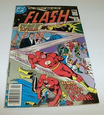 Flash #284 Original Owner Collection $5 High Grade Comic Book Fastest Super Hero