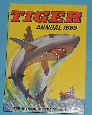 Tiger Comic Annual 1969 , Nr Mint , Roy Of The Rovers , Johnny Cougar 1St App
