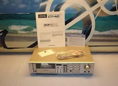 Pioneer CT-40 stereo vintage Cassette Tape Deck Player / Recorder NEW In Box