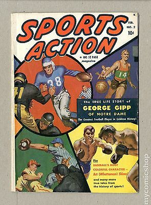 Sports Action (1950) #2 VG+ 4.5