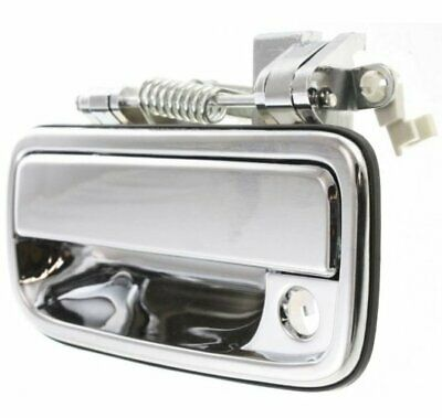 Door Handle For 95 96 97 98 99-04 Toyota Tacoma Front Left Outer Chrome Plastic