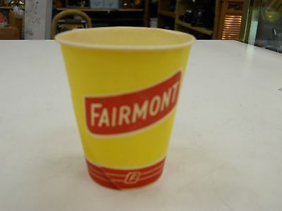 "Vintage Paper Cup Advertising ""Fairmont"""