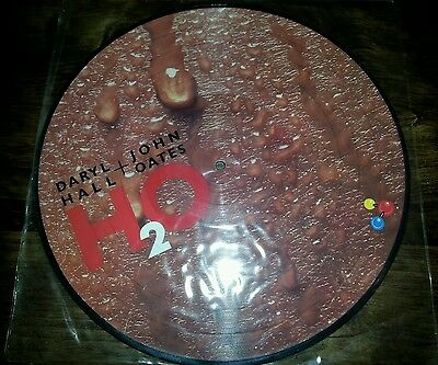 Daryl Hall & John Oates H2O Picture Disc Lp Rcalpp 6056 1982 Rca Pop (Maneater)