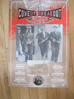 Comedy Breakout poster Johnny Steele Dana Gould Matt Weinhold etc