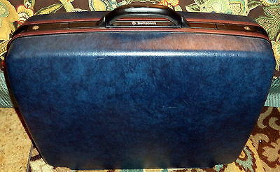"Vintage 1987 Samsonite Silhouette 4 Hard Shell Rolling Suitcase Luggage 26"" x 20"