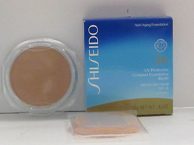 Shiseido UV Protective Compact Foundation Refill SPF36 Medium Beige SP60 New