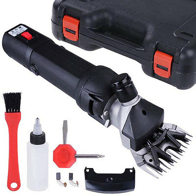380W Electric Sheep Shear Goat Shave Grooming Machine Clipper 26851