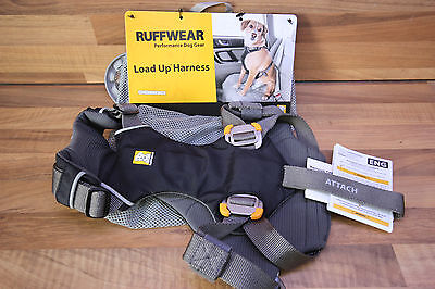 NEW  Ruffwear Load Up Dog  Harness / Car Safety Harness in Black size XS