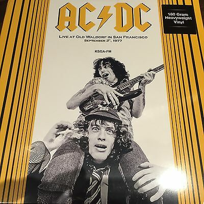AC/DC - Live At Old Waldorf In San Francisco September 3, 1977 - NEW VINYL LP