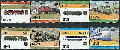 e107) Nevis. MNH. 1984. Small Collection of Railway Locos.2nd Series