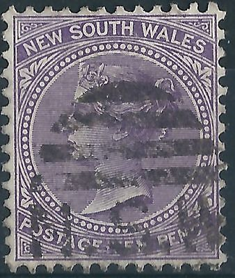 f016) Australia-New South Wales.1897. Used. SG236eeb 10d Violet. c£18+
