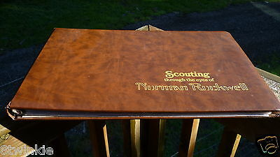 """Scouting Through the Eyes of Norman Rockwell LIBERIA 1979 500 2"""" Stamps Uncut"""