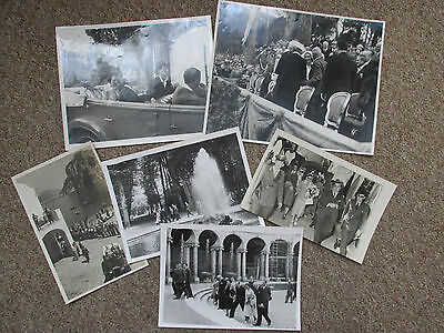 Princess Margaret - Collection Of Press Photographs Late 1940's Italy Capri