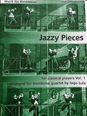 Ingo Luis - Jazzy Pieces - for classical Players Vol.1 - for trombone quartet