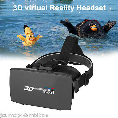 3D Version Virtual Reality VR Box Video Movies Game Occhiali Regolabile Glasses