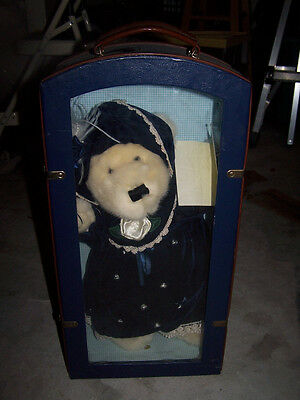 Teddy Bear With Carrying Case And Passport