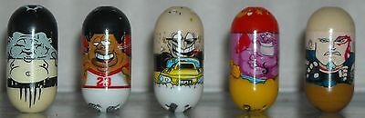 Mighty beanz lot of Five (5)