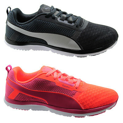84256254741 Puma Pulse Flex Xt Core Womens Trainers Running Shoes Peach Black 188573 U64