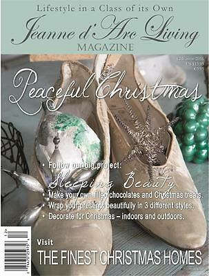 Jeanne D'arc Living Magazine DECEMBER 2016  IN STOCK! Discounted Shipping!