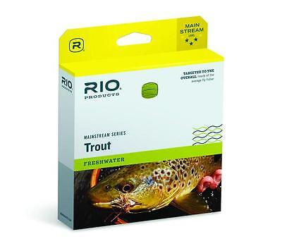 Rio Mainstream Trout New Wf-4-F #4 Wt. Weight Forward Floating Fly Fishing Line