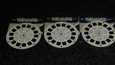 Viewmaster Reels x3 - All Cowboy Related (see description)
