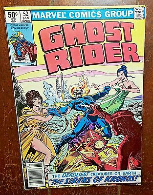 Ghost Rider #52 (1981, Marvel) The Sirens of Kronos!