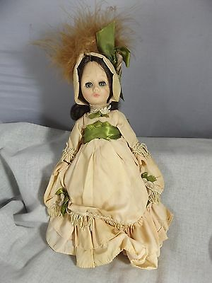 """Vintage Effenbee Currier & Ives A Night on the Hudson 12"""" Doll"""
