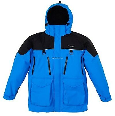 **new Clam Ice Armor Edge Cold Weather Parka Blue 3Xl 10282