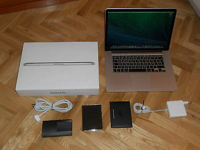 "APPLE MACBOOK PRO RETINA DE 15"" CORE i7 A 2 GHz - 8 GB RAM - SSD DE 250 GB..."