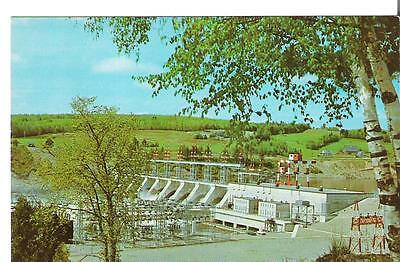 54)  Postcard - Canada - New Brunswick - Beechwood Hydroelectric plant - unused