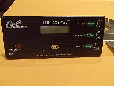 Curtis Thermopro G3 Tp2S Commercial Coffee Brewer Main Control Panel