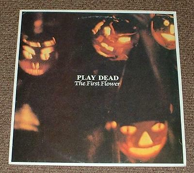 PLAY DEAD the first flower 1983 UK JUNGLE STEREO LP
