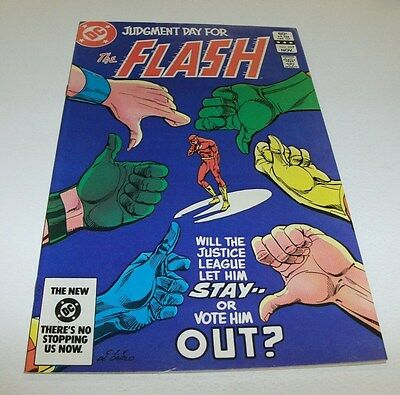 Flash #327 Original Owner Collection $5 High Grade Comic Book Fastest Super Hero