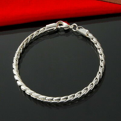 Wholesale Jewellery  Silver Jewelry Chain Bracelet Bangle Xmas Gift