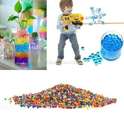 10000Pcs/Bag Pearl Shaped Crystal Soil Water Beads Magic Jelly Balls Home Decor