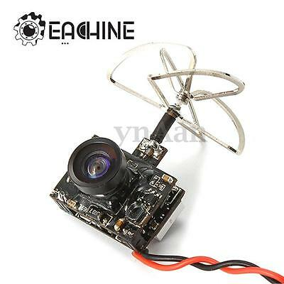 Eachine TX03 AIO 5.8G 72CH VTX 600TVL 1/3 Cmos FPV Camera Power Transmitter New