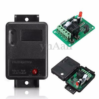 12V 1CH 315/433MHz Wireless Time Delay Relay RF Remote Control Switch Receiver