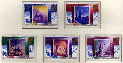 GB 1988 Christmas SG1414-1418 MNH Mint