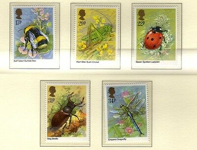 GB 1985 Insects SG1277-1281  MNH Mint