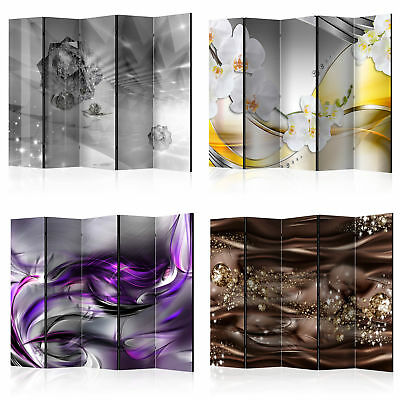Decorative Photo Folding Screen Wall Room Divider Abstraction 2 Sizes!