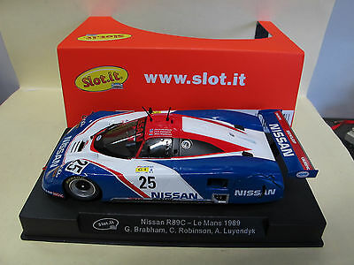 "Slot.it   Nissan R89C  #25   "" Le Mans 1989 ""   Ref.  CA28d"