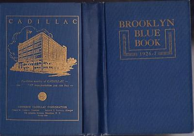 1926-7 Brooklyn Blue Book And Long Island Society Register Hard Cover Very Good