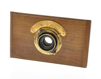 Carl Zeiss Jena 136mm F:8 Protar very very old brass lens ca.1900
