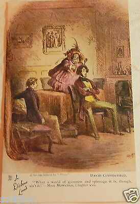 Antique  Postcard  - In Dickens Land - David Copperfield Chapter Xxii Tuck 6047
