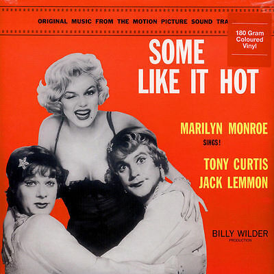 'SOME LIKE IT HOT' Marilyn Monroe 180g RED VINYL LP -  NEW AND SEALED