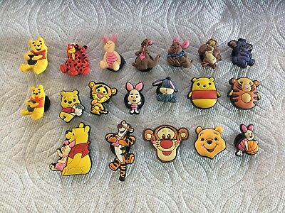 Cartoon Shoe Charms Fits Crocs Heffalump Kanga Owl Roo Piglet Tigger Pooh